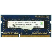 Memoria RAM Notebook 2GB Hynix 2GB HMT325S6BFR8C-H9 PC3-10600S-9-10-B1 ID10916 1x2GB