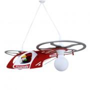 energie A++, Hanglamp Brandweer helicopter - hout 2 lichtbronnen, Elobra