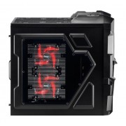 Boîtier PC Aerocool Mechatron Black Window Edition noir, kit de fentre, détail 3x 5,25 pouces externe, 4x interne de 3,5 pouces, 3x 2,5 pouces interne ATX ATX 7