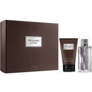 Abercrombie & Fitch First Instinct Set (EDT 50ml + Hair & Body Wash 100ml) за Мъже