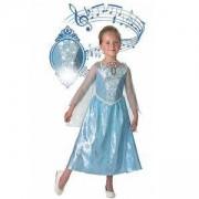 Детски музикален костюм Елза 610361, Размер L, Син, 883028041145