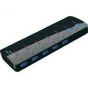 7 portos USB 3.0 HUB tápegységgel (548484)