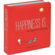 Happiness is... One Happy Thing Every Day by Lisa Swerling
