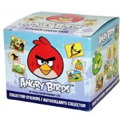 2012 Rovio Angry Birds Collector Sticker Collection 50 Pack Box (8 Stickers Per Pack)
