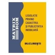 Legislatie privind cadastrul si publicitatea imobiliara, ianuarie 2011.