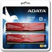Memorie ADATA XPG V1.0 Red 8GB Kit2x4GB DDR3 1866MHz CL10