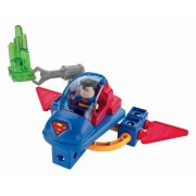 Fisher-Price TRIO Super Friends Figure - Superman & Space Sled Building Toy Set by Fisher-Price