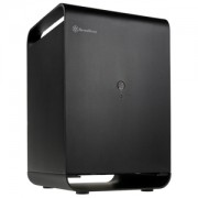 Carcasa Silverstone CS01 Mini-ITX Storage Black, SST-CS01B