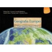 Geografie cls 6 caiet Geografia Europei - Steluta Dan Carmen Camelia Radulescu