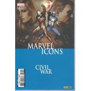 """ Émeutes "" ( Civil War ) : Marvel Icons N° 24 ( Avril 2007 )"