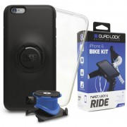 Quad Lock Bike Kit Uchwyt do telefonu do iPhone 6 niebieski/czarny Akcesoria do smartphonów