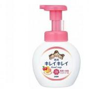 """LION """"KireiKirei-Фруктовый микс"""" Жидкое мыло-пенка для рук для детей и взрослых с антибактериальным эффектом, 250 мл."""