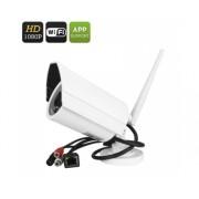Full HD Caméra IP - sans fil, 1 / 2,5 pouces COMS, SD Stockage, Support téléphonique, détection de mouvement, vision nocturne