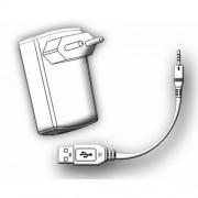 Oplaadset Aquasound Adapter met USB Compleet voor Wipod Zwart