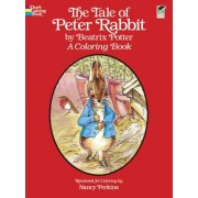 The Tale of Peter Rabbit: A Coloring Book, Paperback