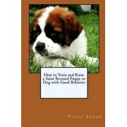 How to Train and Raise a Saint Bernard Puppy or Dog with Good Behavior by Vince Stead