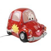 Lámpara noche coche rojo