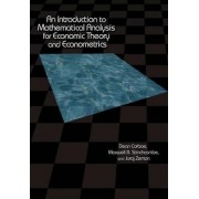 An Introduction to Mathematical Analysis for Economic Theory and Econometrics by Dean Corbae