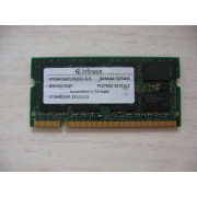 Infineon - Mémoire - 512 Mo - SO DIMM 144 broches - DDR - 333 MHz - PC2700 - CL2.5