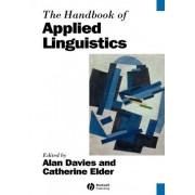 The Handbook of Applied Linguistics by Alan Davies