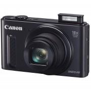 Cámara Canon PowerShot SX610 HS 18x Zoom 20.2 MP -Negro