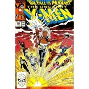 Uncanny X-Men N° 227, The Fall Of The Mutants Part 3 (Vo)