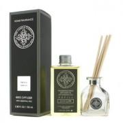 Reed Diffuser with Essential Oils - French Vanilla 100ml/3.38oz Odorizant cu Trestie cu Uleiuri Esenţiale - French Vanilla