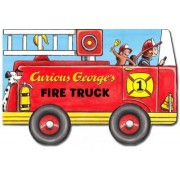Curious George's Fire Truck (Mini movers shaped board books) by Rey H.A.