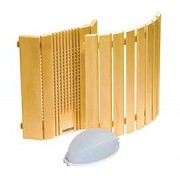 Harvia Sauna Lamp and Lampshades -Wooden Sauna Lampshades