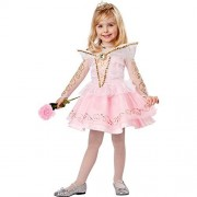 California Costumes Sleeping Beauty Deluxe Toddler Costume, 3-4