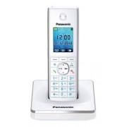 "Panasonic KX-TG8551GW Teléfono inalámbrico, pantalla de 4.6 cm, 1.8"", color blanco (importado)"