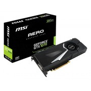 MSI GeForce GTX 1070 AERO 8G OC Scheda Grafica PCIe 3.0, 8 GB, GDDR5, Frequenza 256bit