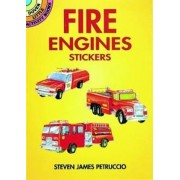 Fire Engines Stickers by Steven James Petruccio
