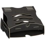 "Fellowes 8013801 soporte de portátil - Soporte de regazo para portátiles y netbooks (Negro, 43,18 cm (17""), 813g, 295 x 20 x 340 mm, Icecat.biz)"