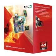 "CPU AMD skt FM2 A4 X2 4020 3.20/3.40GHz, 1MB cache, 65W, BOX ""AD4020OKHLBOX"""