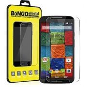 BinTEK Bongo Shield Motorola Moto X 2nd Gen Screen Protector PREMIUM Ballistic Moto X 2nd Gen Tempered Glass Moto X Gen 2 Screen Protector / Compatible with Models XT1092 Europe XT1093 US Cellular XT1094 Republic Wireless XT1095 GSM XT1096 Verizon XT