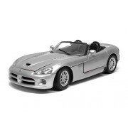 Welly 1:24 Scale Dodge 2003 Viper SRT - 10 with Doors Openable and Pull Back Action from Flying Toyszer