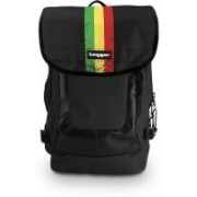 Tagger Urban Electro -Rastafari_olbk (Black) Top Loaded Ultimate 21 L Laptop Backpack(Black)