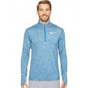 Nike Dry Element Long Sleeve Running Top Industrial BlueHeatherBlack