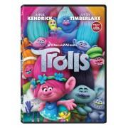 Trolls:Anna Kendrick, Zooey Deschanel, Justin Timberlake, Gwen Stefani, Jeffrey Tambor, Christopher Mintz-Plasse - Trolii (DVD)