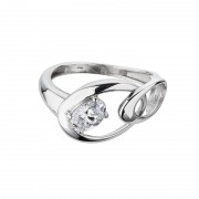 Inel de argint Preciosa (White) - Appealing