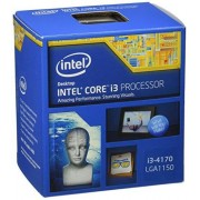 Intel Haswell Processeur Core i3-4170 3.7 GHz 3Mo Cache Socket 1150 Boîte (BX80646I34170)