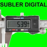 Subler digital Electronic Full inox 0 - 150mm PRECIZIE 0,01