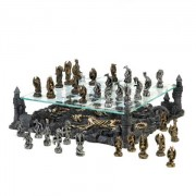 Two Tier Dragon Chess Set, Home Locomotion