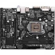 Дънна платка ASROCK Main Board Desktop iH81 (S1150, DDR3,USB3.0,SATA III,LAN,5.1ch, DVI,USB3.0,SATA II) mATX Retail, H81M-DGS_R2.0_3Y