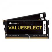 Memorie Corsair Value Select SODIMM 16GB (2x8GB) DDR4 2133MHz CL15 1.2V, Dual Channel Kit, CMSO16GX4M2A2133C15