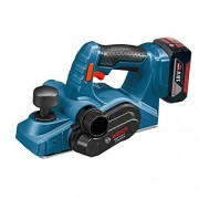 Bosch GHO 18 V-LI Professional Cordless Planer 18 V (includes 2 x 4.0 Ah Lithium Ion CoolPack Batteries)