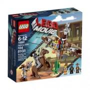 LEGO THE MOVIE 70800 figura de juguete para niños - figuras de juguete para niños (Multicolor, Niño/niña)