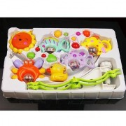 Funny Fish Crab and Duck Baby Crib Mobile Music Bed Bell Educational Toy New
