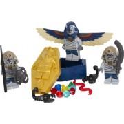 LEGO PHARAOH'S QUEST Skeleton Mummy Battle Pack / Regofarao Quest Mummy Battle Pack 853 176 (japan import)
